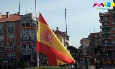Patronales Torrejón: Homenaje a la bandera