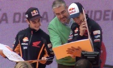 Márquez y Pedrosa en Alcalá