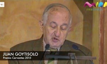 Discurso de Juan Goytisolo tras recibir el Premio Cervantes