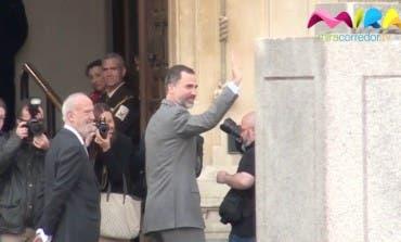 Primera visita de Felipe VI como rey a la Universidad de Alcalá