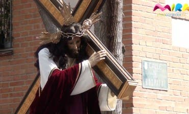 Procesión del Encuentro Doloroso en Torrejón de Ardoz