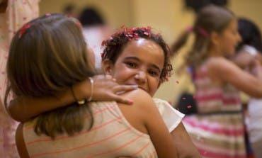Regresan a casa los niños saharauis acogidos por familias del Corredor