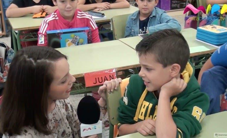 Video- Visitamos el colegio Cervantes de Mejorada del Campo