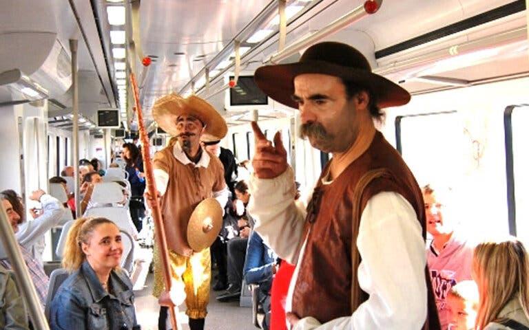 El Tren de Cervantes ya viaja rumbo a Alcalá