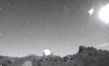 Video- Una gran bola de fuego cayó sobre Alcalá