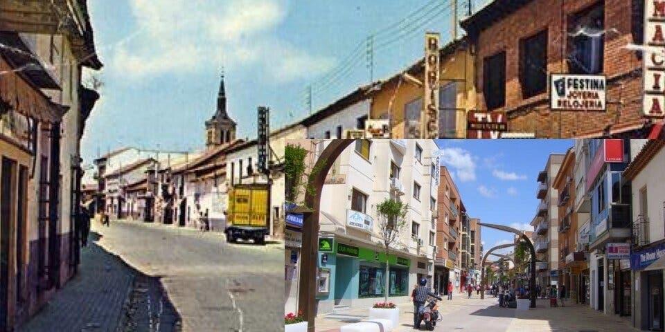 Historia de una fotografía. Calle Enmedio Torrejón. Años 60