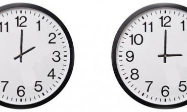Esta madrugada cambia la hora