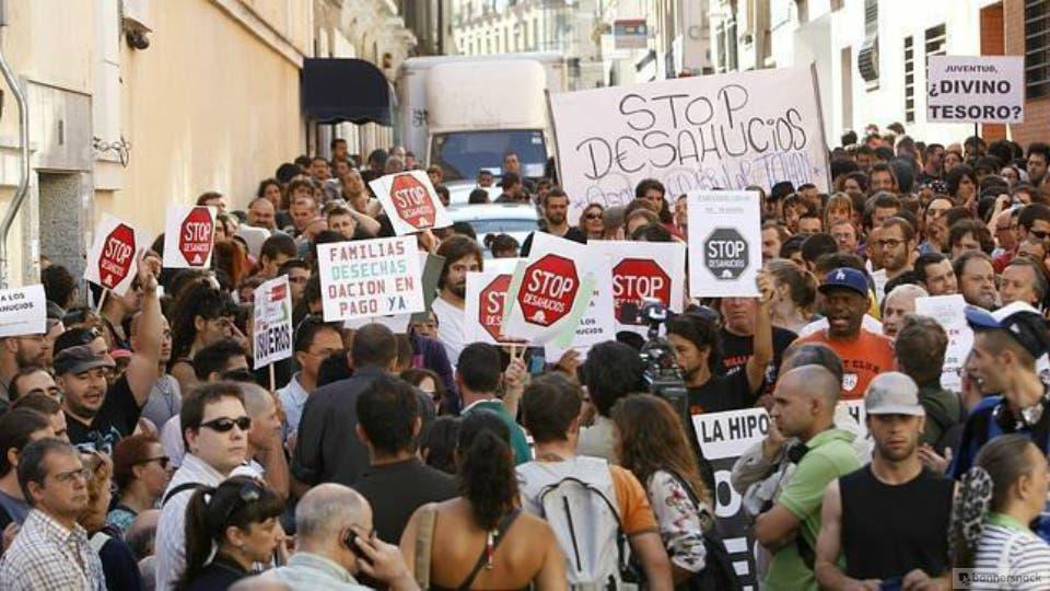 Menos desahucios en Madrid durante 2016