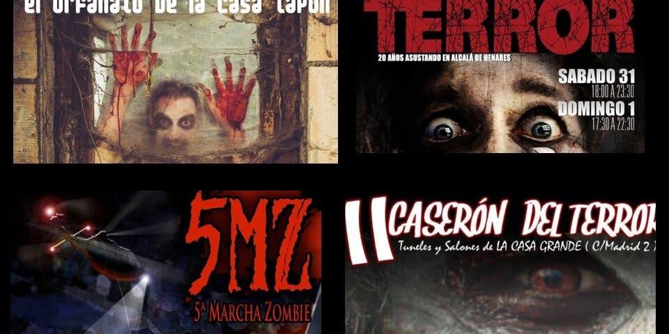 Nuestras propuestas para Halloween: pasajes del terror, marcha zombie…