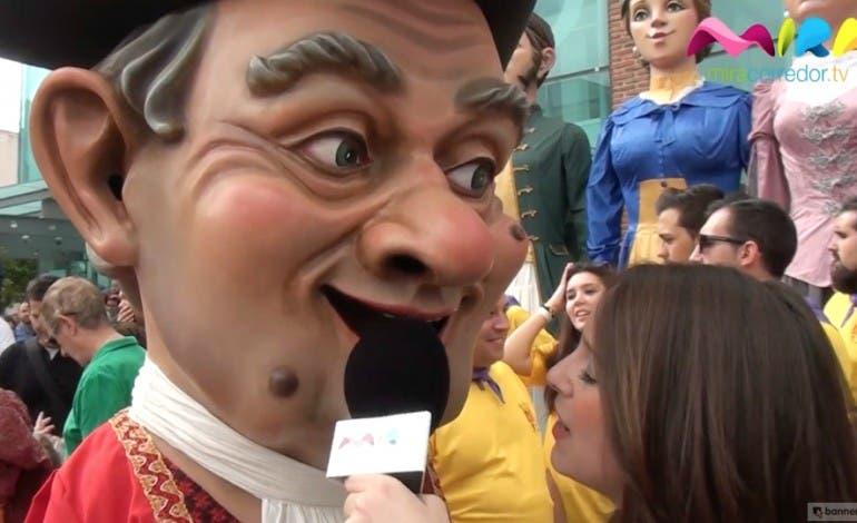 Video- Patronales Torrejón 2015: Gigantes y Cabezudos