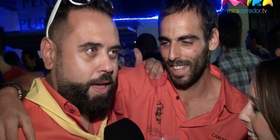 Video- Patronales Torrejón 2015: Los chamizos de las peñas