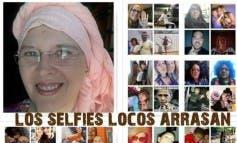 Oleada de selfies en Torrejón apoyando a Paloma Gil