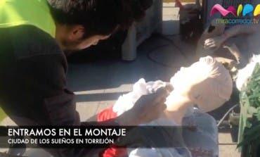 Video- Entramos en el montaje de la Ciudad de los Sueños de Torrejón