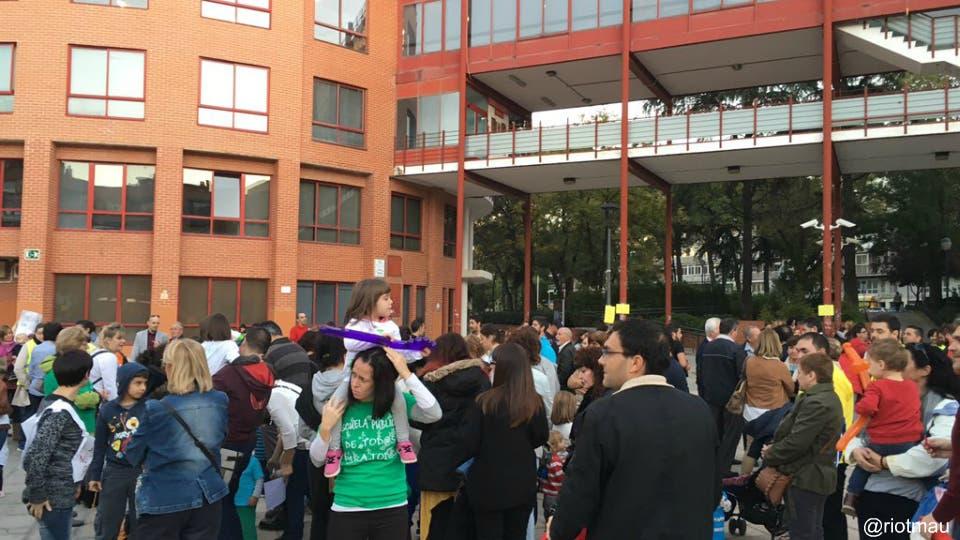 Los padres y profesores de la guardería Diamela de Coslada ganan la batalla