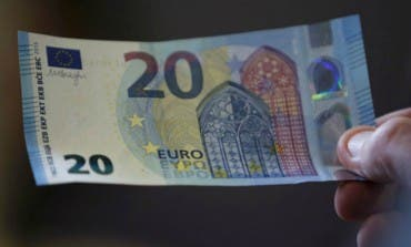 El nuevo billete de 20 euros entrará en circulación el miércoles
