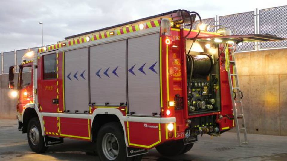 Incendio sin heridos en un piso de Torrejón