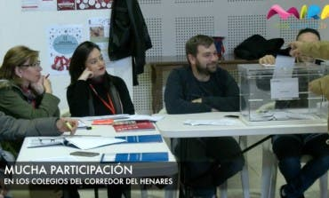 Video- Visitamos varios colegios electorales: Torrejón, Coslada...