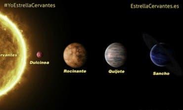 Video- Cervantes ya tiene su propia estrella