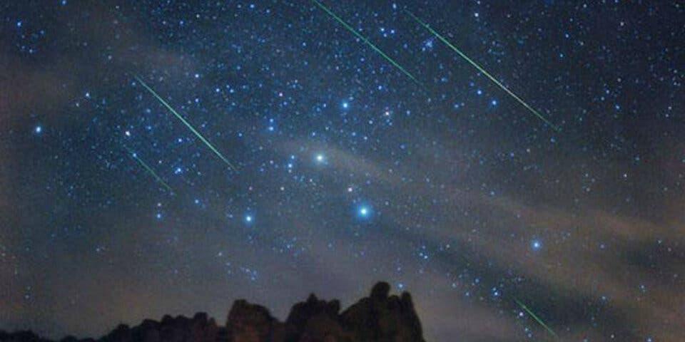 Esta noche podrás ver la mayor lluvia de estrellas del año
