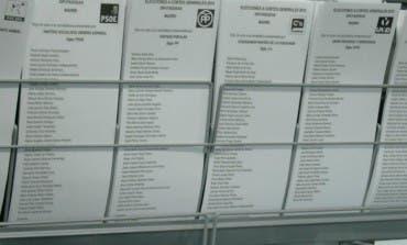 Resultados de las elecciones en el Corredor del Henares