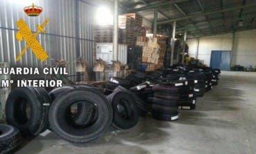 Detenido por robar dos camiones con ropa y neumáticos en Mejorada del Campo