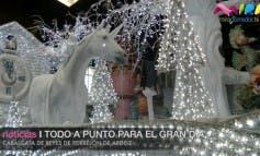 Video- Las carrozas están preparadas para la Cabalgata de Torrejón