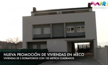 Video- Nueva promoción de viviendas en Meco con amplias terrazas