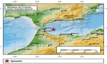 El terremoto de 6,3 grados se ha sentido muy levemente en Coslada y Alcalá