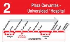 Ojo! Varias líneas de autobuses de Alcalá cambian su recorrido