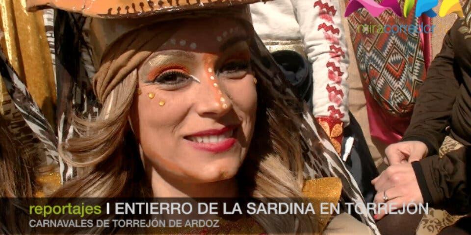 Video- Así se vivió el Entierro de la Sardina en Torrejón