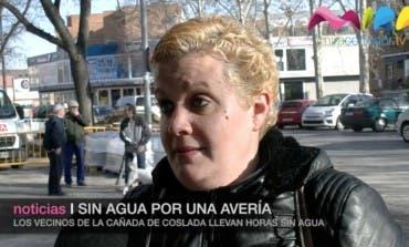 Video- Los vecinos de La Cañada de Coslada llevan horas sin agua