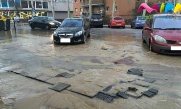 Video- Una avería deja a La Cañada de Coslada sin agua