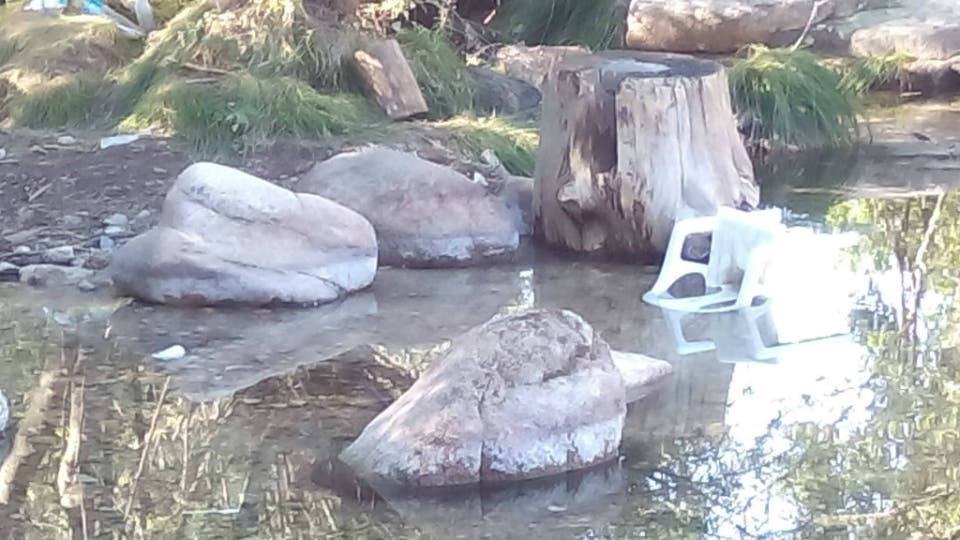 Hasta 3.000 euros de multa por bañarse en La Pedriza