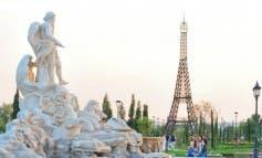 Pintar, dañar o subirse a los monumentos del Parque Europa tiene multa