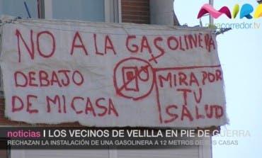 Los vecinos de Velilla en pie de guerra por una gasolinera
