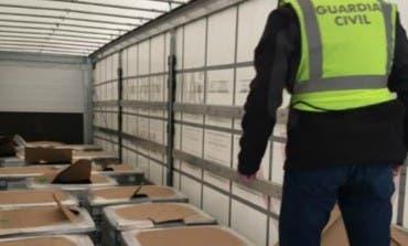 Detenidos en Mejorada y Madrid por robar baterías