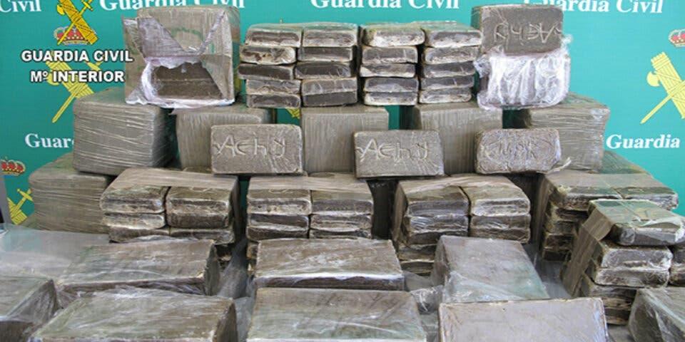 Detenidos en Guadalajara cargados de hachís