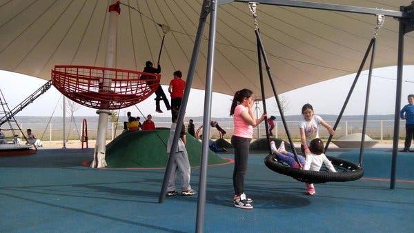 Elegido el segundo mejor parque infantil de España