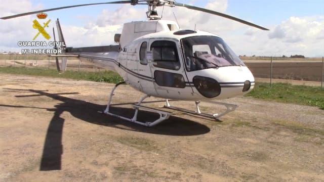 Cae una red que introducía hachís en helicópteros