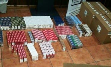 Detenida en Guadalajara por robar cartones de tabaco