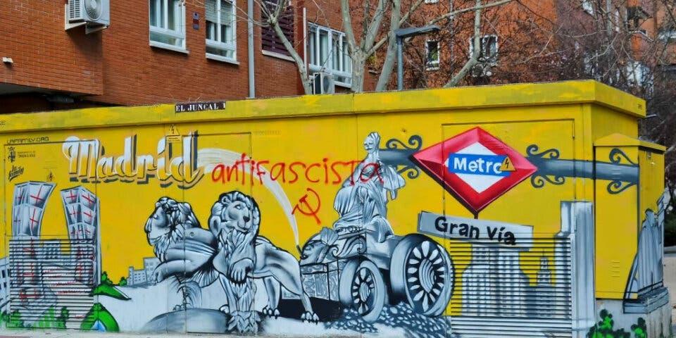 Torrejón pide la colaboración ciudadana para acabar con las pintadas vandálicas