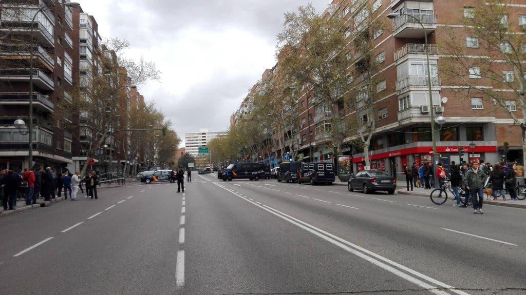Atraco frustrado a una vivienda en Madrid
