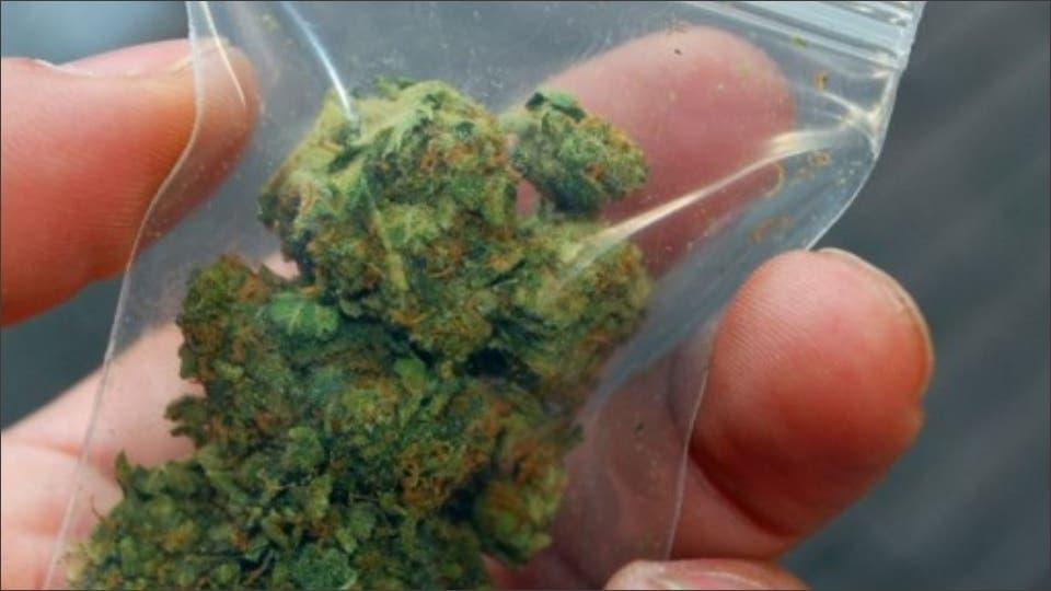 Detenidos en Paracuellos con 2,3 kilos de marihuana para vender