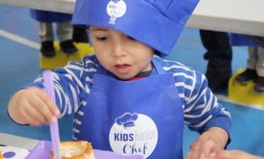 Los niños del Colegio Alborada de Alcalá se convirtieron en grandes chefs por un día