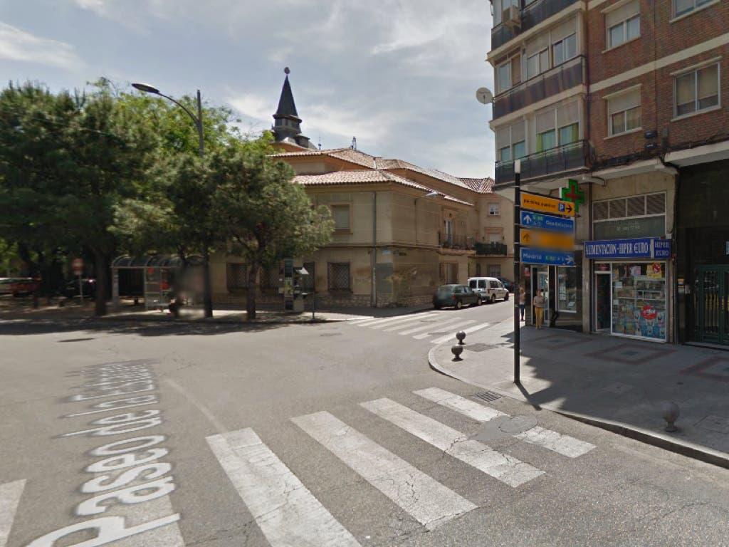 Un autobús atropella a una abuela y a su nieto de 3 años en Alcalá de Henares