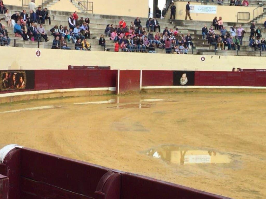 Suspendida por la lluvia la Corrida Cervantina de Alcalá