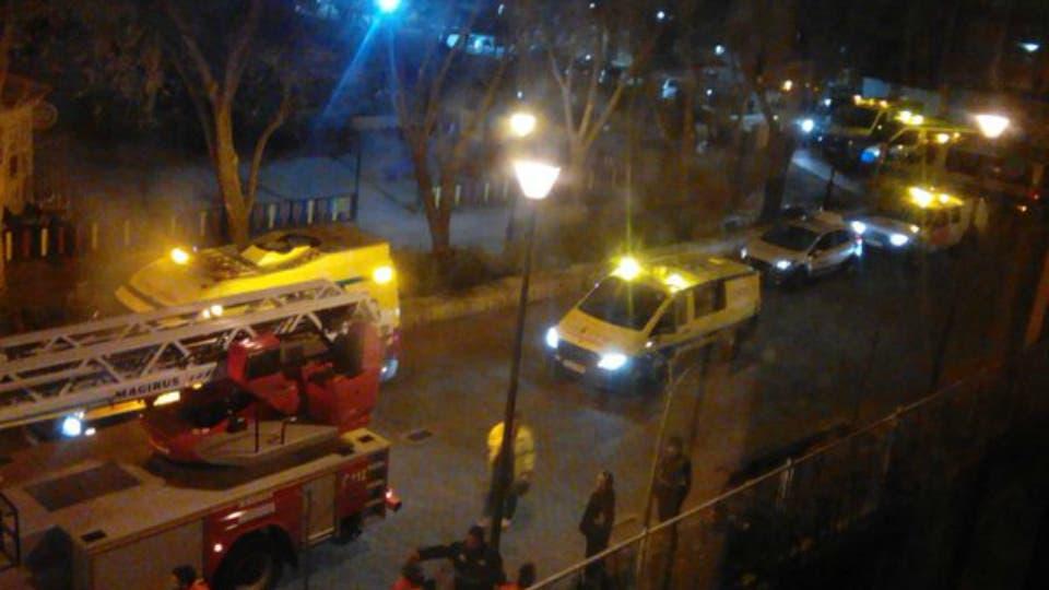 Incendio en una residencia de ancianos en Guadalajara