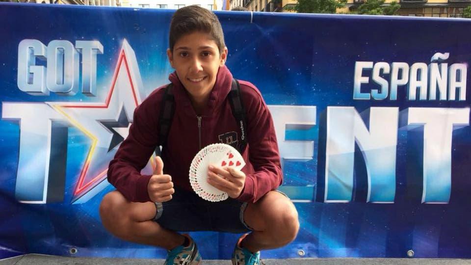 Torrejón pendiente este sábado de Manuel Alcalde en Got Talent