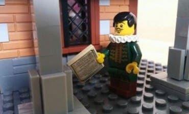 Lego rinde homenaje a Cervantes y a Alcalá en el Museo del Ferrocarril