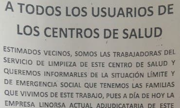 Las limpiadoras de los centros de salud de Guadalajara y provincia irán a la huelga